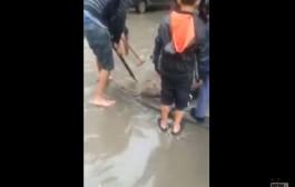 جوج قطرات ديال الشتا كيغرقو فاس + فيديو