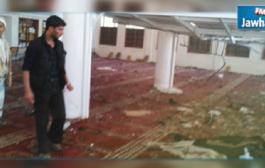 بالفيديو: لحظة تفجير انتحاري لنفسه في مسجد بصنعاء