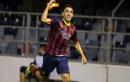 باري سان جيرمان يريده مهاجم برشلونة المغربي الحدادي