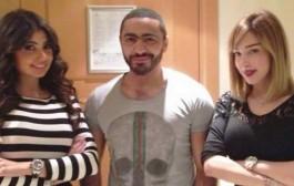 النجم المصري تامر حسني ينتظر مولوده الثاني من المغربية بوسيل