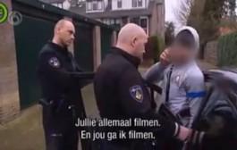 بوليس هولندا كيزيد يشوه فالمغاربة. رصدوا مخالفة مرورية لشاب مغربي فتمت إذاعتها على التلفزيون + فيديو