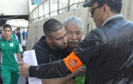 محسن متولي وقف مع الرجاويين ضد اسطيف الجزائري (صور+ فيديو)