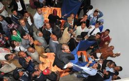 قربلة داخل المجلس الوطني لحزب الحصاد ومناضلون اعتبروا تنصيب ساجد على رأس الحزب«اغتيالا» للديمقراطية