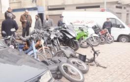 عصابة إجرامية متخصصة في سرقة الدراجات النارية تنفذ 229 عملية في البيضاء