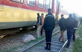 """عاجل. قطار سريع يقتل شخصا في فاس ومصدر من إدارة لخليع لـ""""كود"""": راه ديك السيد حمق ونتاحر"""