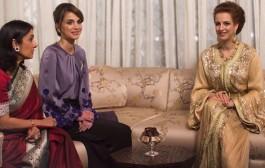 """موقع """"بيبول""""  تصنف الاميرة للا سلمى والملكة رانيا ضمن قائمة أجمل عشر أميرات في العالم"""