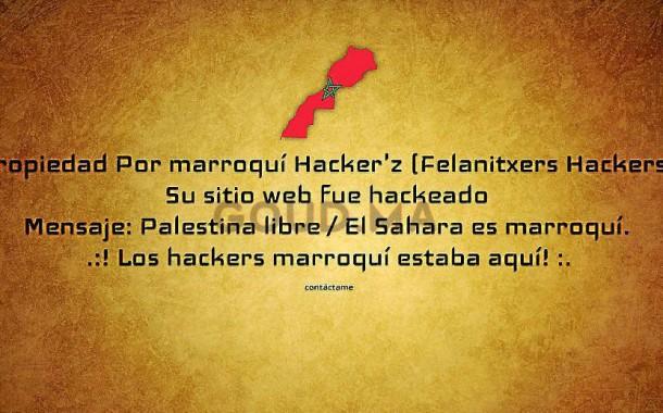 """الشرطة الاسبانية تفتح تحقيقا في اختراق """"هاكرز"""" مغربي الموقع الرسمي لبلدية فيلانيتش دفاعا عن فلسطين والصحراء"""