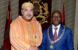 رئيس غينيا يخلي قصره ليقيم فيه الملك محمد السادس