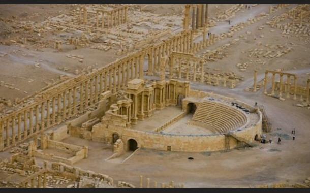 داعش تسيطر على مدينة تدمر السورية التاريخية ويوسع مناطق نفوذه على الحدود العراقية السورية