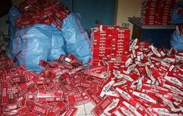 حجز 4 آلاف علبة سجائر مهربة في وجدة
