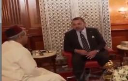 بالفيديو. استقبال الملك محمد السادس لوالد الطيار ياسين بحتي