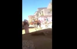 بالفيديو. معركة بالسيوف والهراوات تثير الرعب في نفوس  ساكنة لقصر لكبير