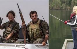 تايغر صن. عارضة أزياء كندية مشات لسوريا ماشي باش تعرض الازياء بل لمحاربة داعش (صور)