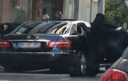عارضة أزياء مشهورة لبسات البرقع فوسط شوارع باريس وها علاش (صور)
