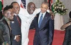 اوباما يبهر الكينيين برقصة إفريقية (فيديو)