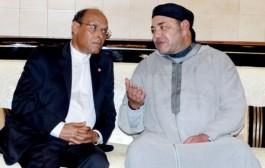 الملك يستقبل الرئيس التونسي السابق المرزوقي الذي يزور المغرب بدعوة من العدالة والتنمية