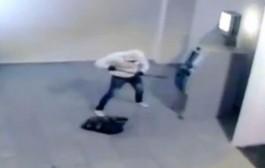 هاذا دارها واعره مع راسه.. لص ينسف جهاز الصراف الآلي بالديناميت في البرازيل /فيديو/
