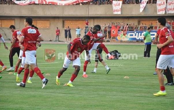 إيفونا يخوض أول اختبار مع الأهلي المصري