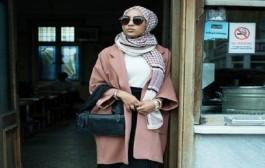 مغربية تدخل عالة الموضة… بالحجاب