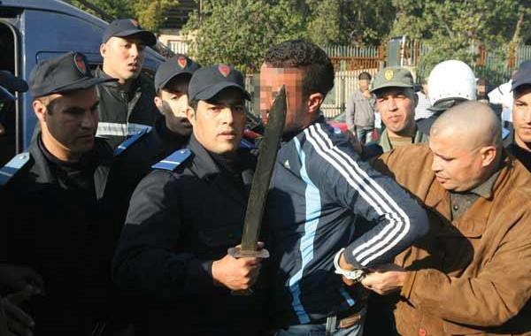 مواجهة دامية بين بوليس وعصابة في سلا