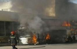 عاجل: العافية شعلات فطوبيس بفاس +صورة