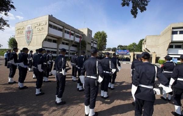 البوليس المغربي منوض قربالة فبلجيكا