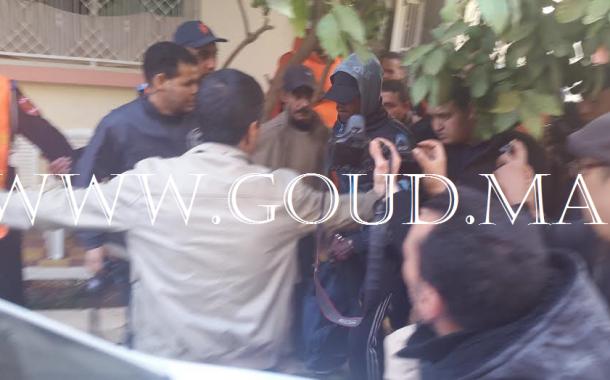 عاجل: إعادة تمثيل جريمة قتل مكناسي وإحراق جتثه قبل تقطيعها +فيديو حصري وصور