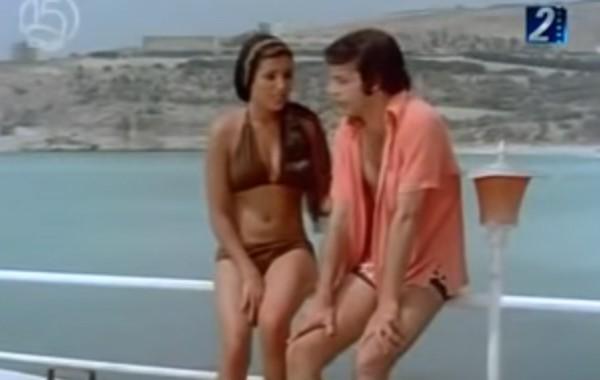 بالفيديو. ها هي أول مغربية مثلات بالبيكيني ف فيلم مصري