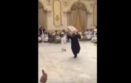 مشا يدير فيها مْعلمْ صدق داير كارثة فوسط سهرة ثري سعودي (فيديو)