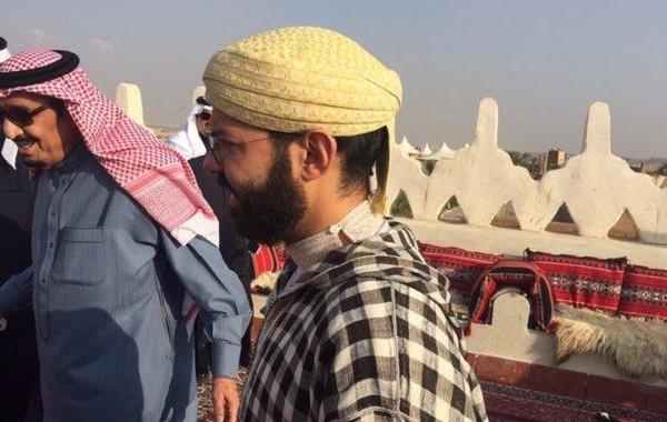 الأمير خالد بن طلال ينشر صور زيارة ابن عم الملك محمد السادس لملك السعودية (صور)