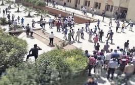 عاااجل: نايضة في وجدة، الفصائل الطلابية جهلو: مواجهات بالسواطر والجناوي وتضارب حول الضحايا
