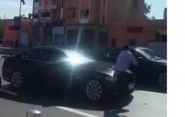 خاص. حارس الملك اللي عوض الجعايدي تصاب بعد حادث ارتطام فتاة العيون بالموكب الملكي
