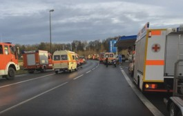 بالفيديو. تصادم قطارين في ألمانيا وإصابة المئات من الألمان