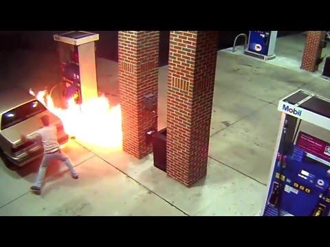 غبي ماكاينش بحالو. مشا يحرق عنكبوت وهو كايعمر ليصانص فالسطاسيون (فيديو)