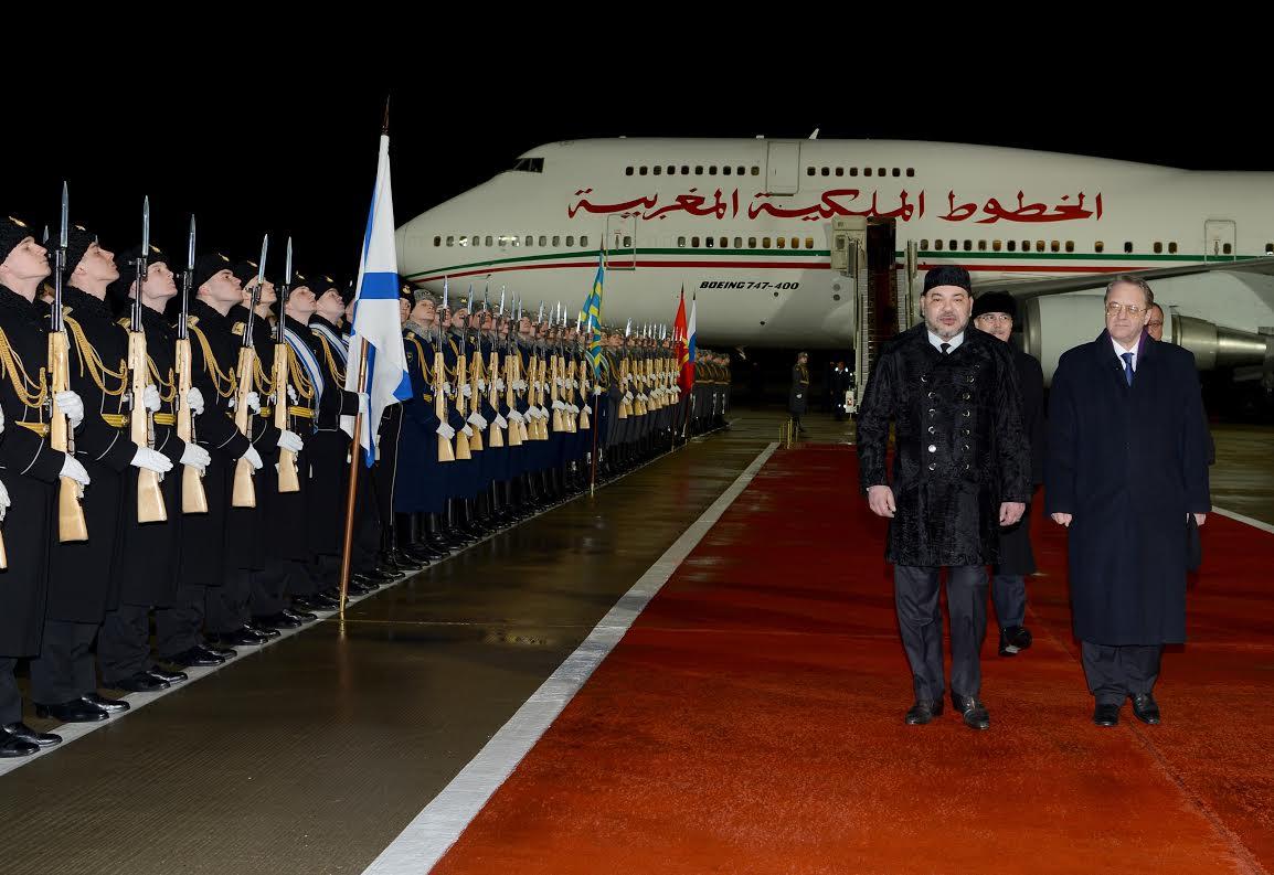 الشراكة المغربية الروسية