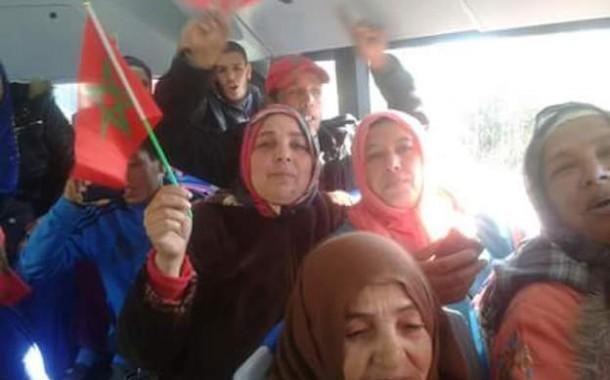 أخبار متضاربة حول القائد المتهم بصفع مي فتيحة دوخات لمغاربة وماعرفو شكون الخبر الحقيقي