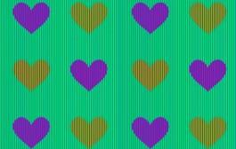بعد الفستان المثير للجدل. قلوب تحير الناس بألوانها فماذا تراها أنت؟ (فيديو)
