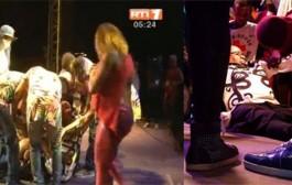 بالفيديو. لحظة وفاة مغني كونغولي على خشبة مهرجان إفريقي