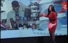 بالفيديو, إعلامية لبنانية يغمى عليها على المباشر