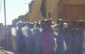 مناوشات أمنية بالسمارة بعد وفاة محمد عبد العزيز بسبب بوليساريو الداخل و إصابة شخص بجروح خطيرة