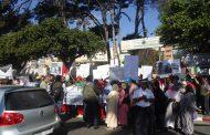 مستخدمو جمعية للاحتياجات الخاصة بكازا يحتجون على الحگرة ويطالبون بالحماية