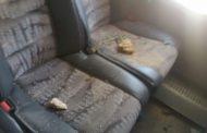 بالصور: هرسو حافلة الرجاء فاسفي
