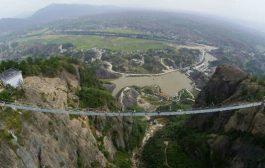 بالصور والفيديو.جسر الرعب الزجاجي في الصين شكون يقدر يدوز منو