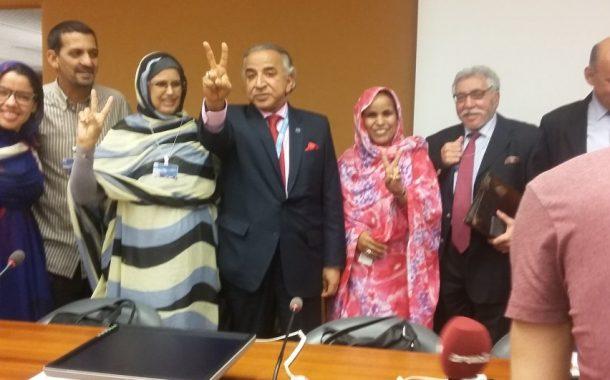 انت لي بقيتي. نائب برلماني كويتي يناصر البوليساريو بجنيف