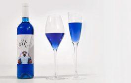 الجديد ديال الشراب…النبيذ الأزرق من إنتاج المزارع الإسبانية