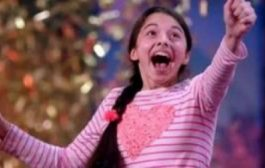 بالفيديو. درية صغيرة صدمات لجنة أميريكان غوت تالنت بصوتها الملائكي