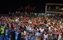 موس ماهر شعل المهرجان المتوسطي ومسلم سباب حضور المشرملين