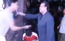 """بالفيديو.. شباط يخاطب سكليس بفاس: جيت نشوفكوم حقاش حتى أنا كيقولو ليا """"السكليس"""" وهادي مهنة شريفة"""