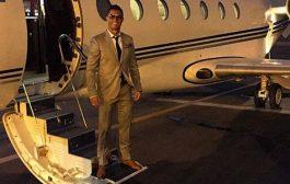 تحطم طائرة رونالدو في مطار برشلونة اللي كدير 20 مليون يورو