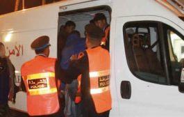 الأمن يعتقل أستاذ تعليم ثانوي سكران وداير حالة ببوجدور
